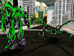 Spider Robot Warrior Web Robot Spider
