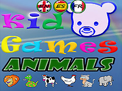 Kid Games Learn with Funny Animals