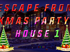 Escape From Xmas Party House 1