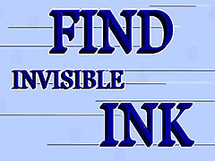 Find Invisible Ink