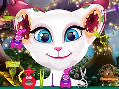 Talking Angela Nasty Ear Infection